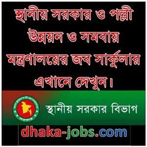 Local Government Division Job Circular