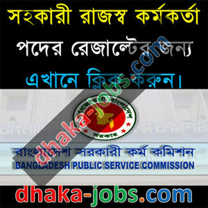 Assistant Revenue Officer Written Result 2016