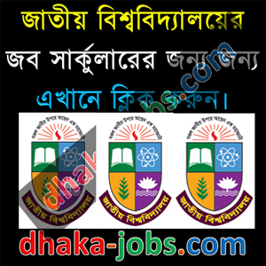 National University Job Circular 2018