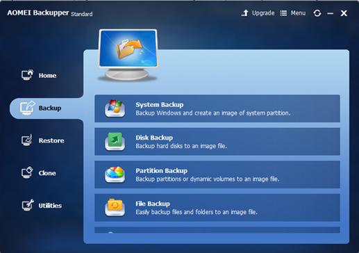 AOMEI Backupper 4.0.3
