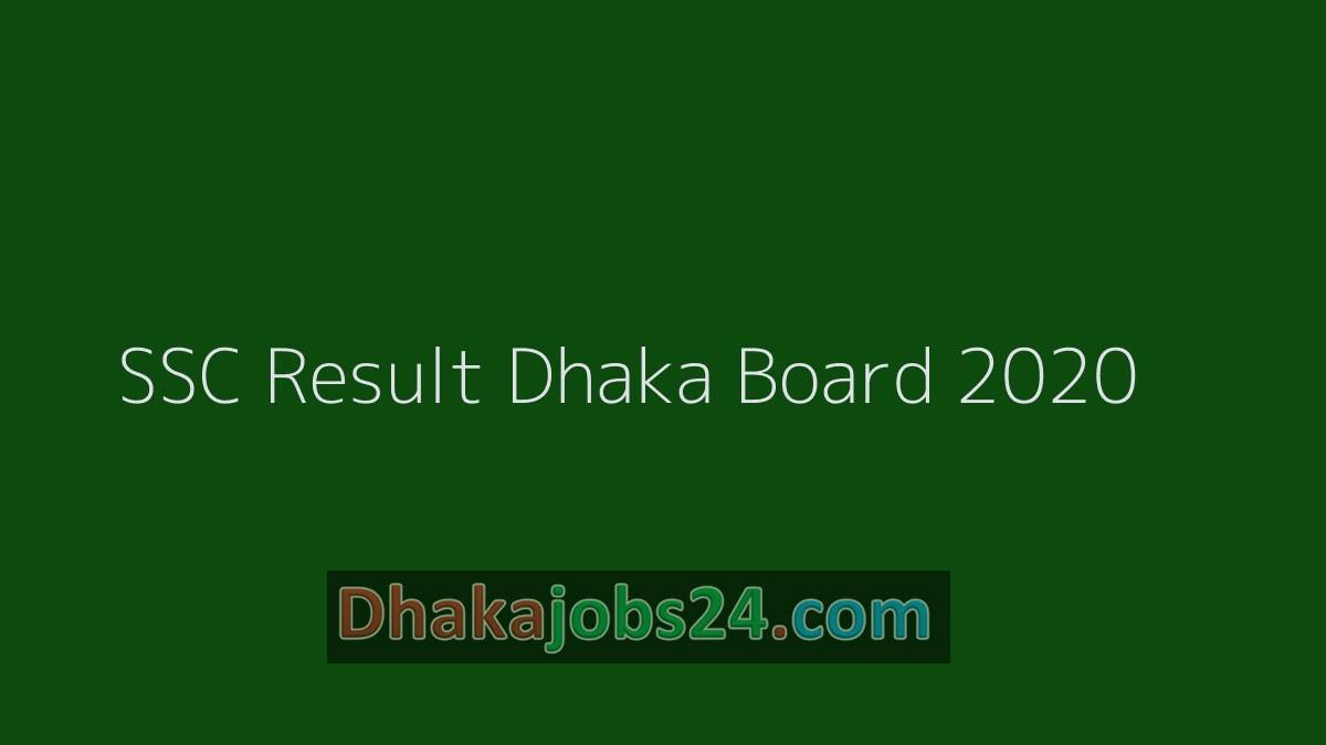 Full SSC Result Dhaka Board 2020