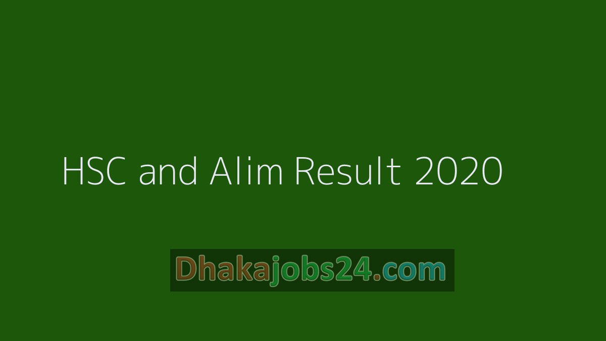 HSC Result 2020 All Education Board