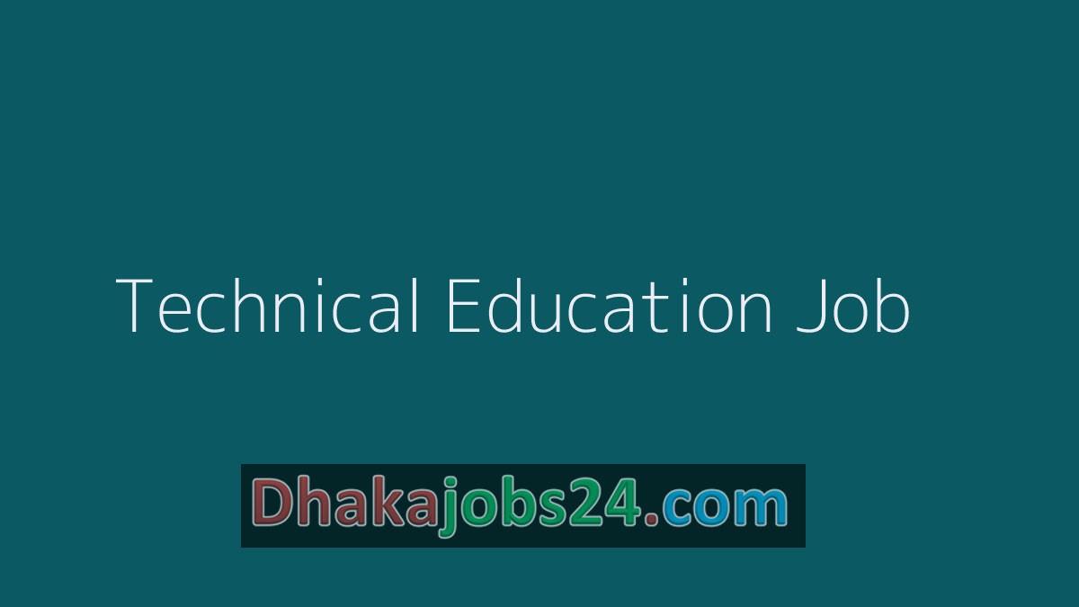 Technical Education Job 2019