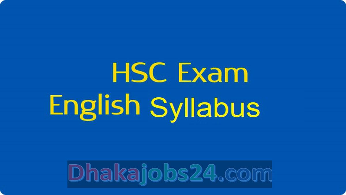 HSC English 1 New Syllabus 2021 NCTB